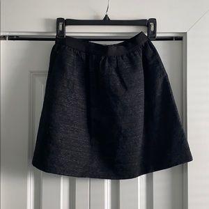 Wilfred black fall skirt
